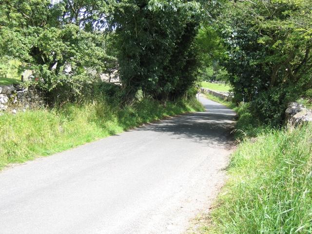 Cow Close Lane towards Kirkby Malham