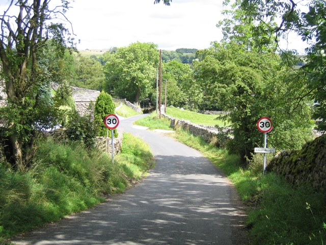 Entering Kirkby Malham