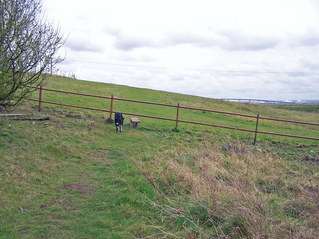 Footpath over Rushenden Hill