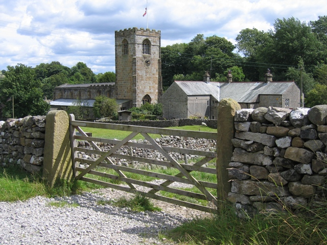Kirkby Malham church