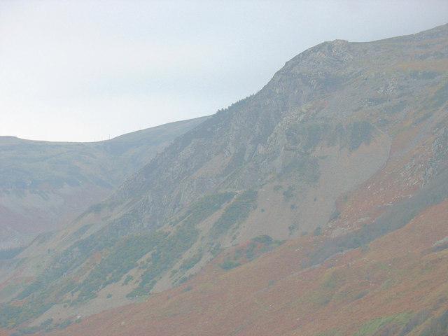 Nant Quarry from Carreg y Llam Quarry