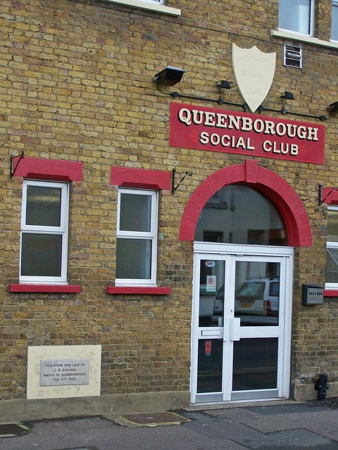 Entrance to Queenborough Social Club