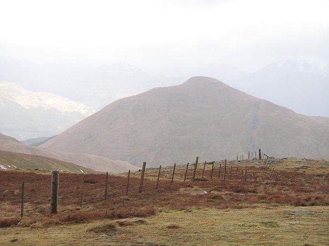 Summit slopes, Beinn Caoraich