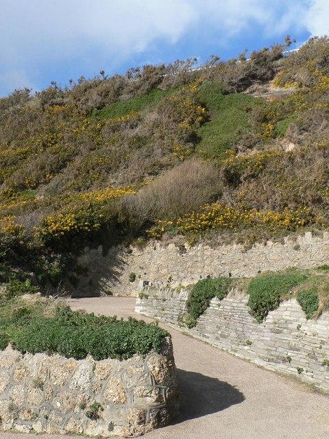Southbourne: zig-zag path detail