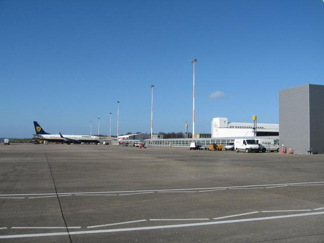 Apron at John Lennon Airport