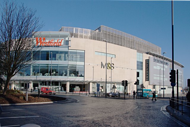 The Westfield shopping centre