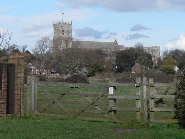 Wick: gateway with priory view