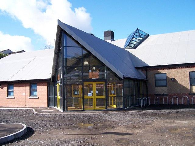 'Close up' of The Venue in Stocksbridge
