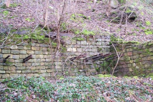 Abandoned Industrial Workings near Oughtibridge