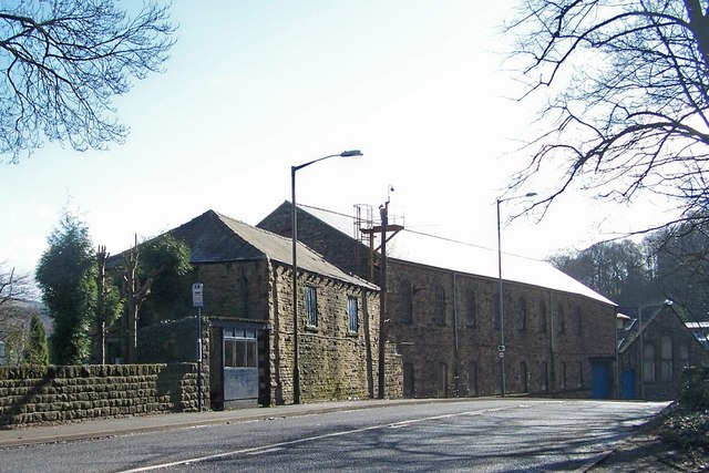 Original Buildings of Spring Grove Paper Mill, near Oughtibridge