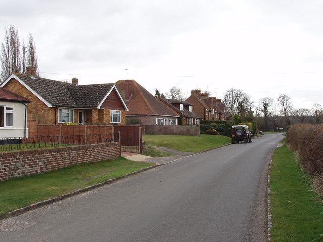 Houses in Winchbottom Lane, Little Marlow