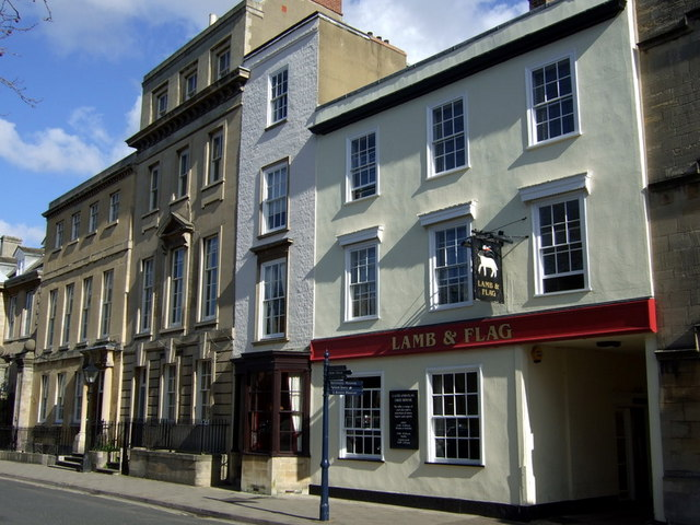 The Lamb and Flag, St Giles
