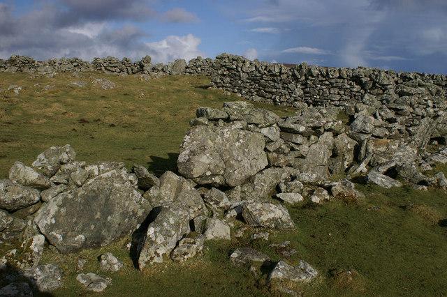 Abandoned sheep pund