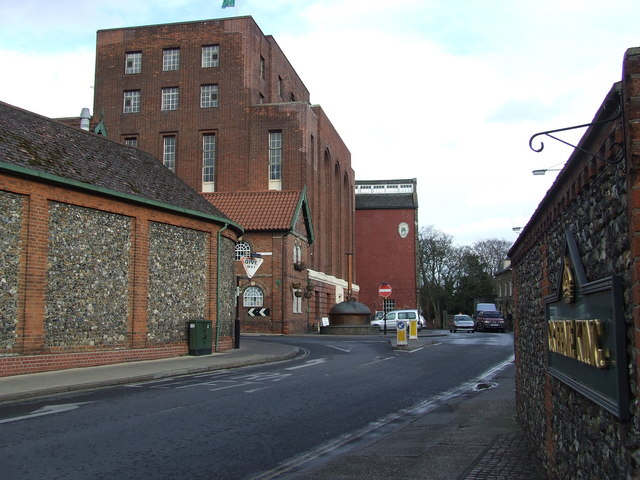 Greene King Brewery