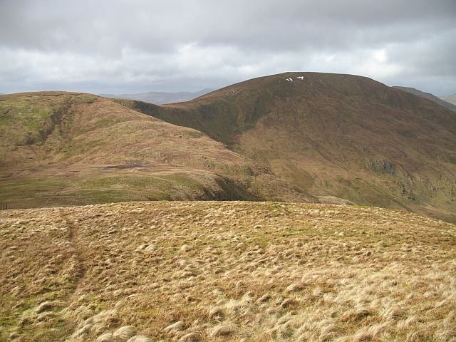 Tops around the summit of Coire Coinghil