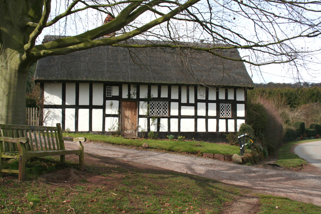 Black and White Cottage, Stone House Lane, Peckforton