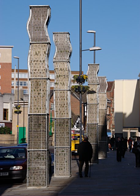 Vertical Gardens, The Spot, Derby