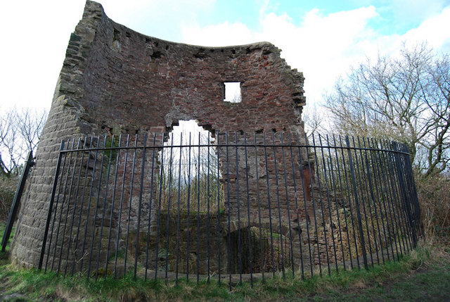 Ruined Windmill on Harrock Hill