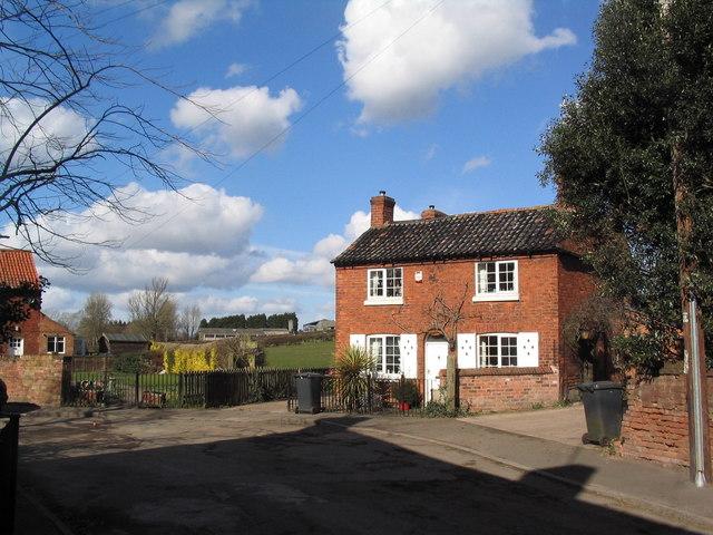 House on corner of Soar Lane, Sutton Bonington