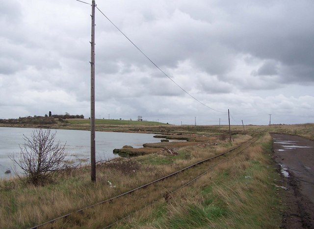 Railway and track to Rushenden Pier