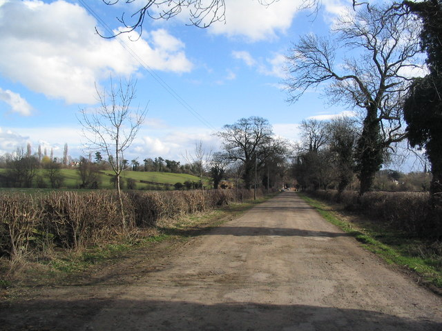 Soar Lane towards Sutton Bonington