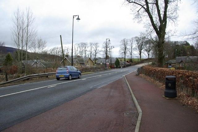 Lamington village.