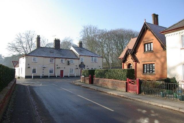 Sledmere village.