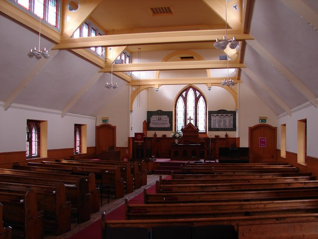 St Ninian's Church Interior, Moniaive