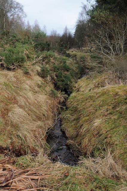 Broomhill Burn - Muir of Thorn