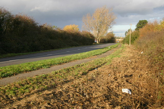 Road out from Needingworth