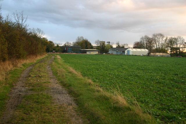Footpath to Rectory Farm