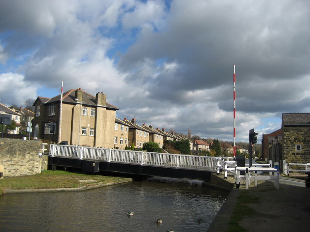 Swing Bridge in Riddlesden