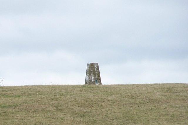 Trig Point at Lane Head, near to Skew Hill Lane