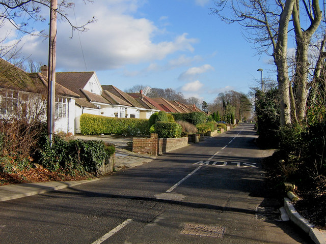 Goddington Lane, looking east