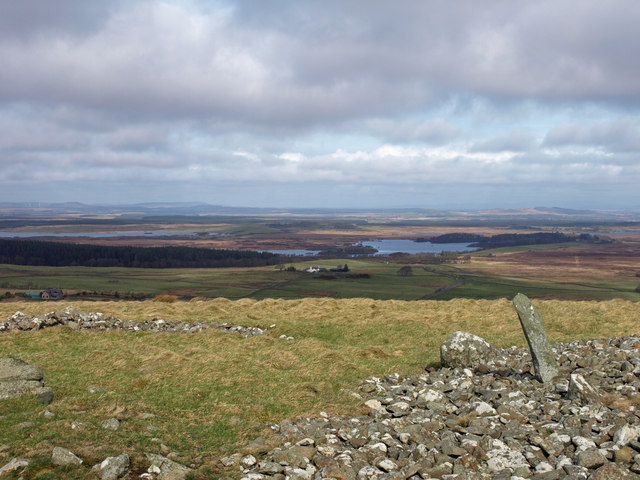 Bronze Age cairn on Mochrum Fell