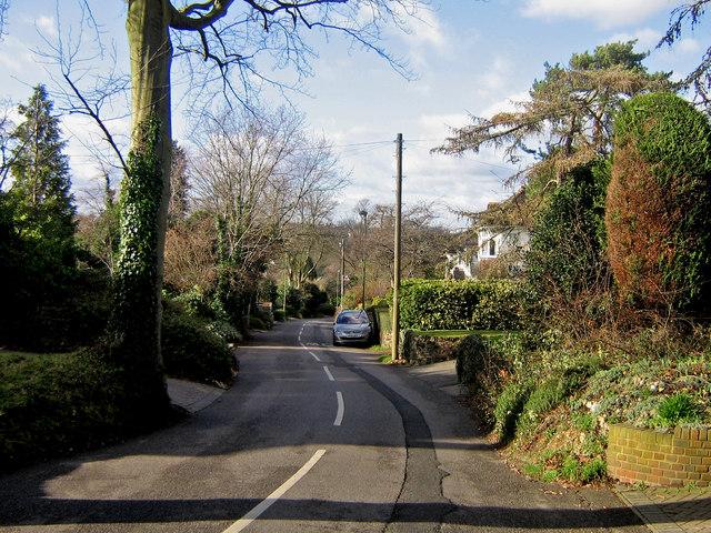 Goddington Lane looking west