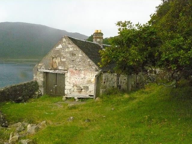 Boathouse at Carsaig