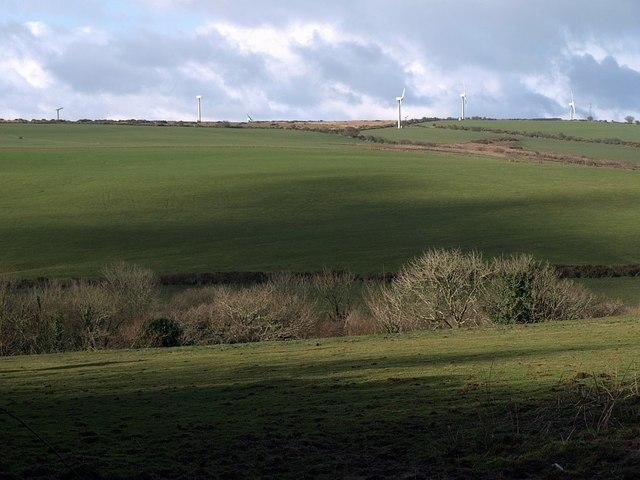 Valley near Badgall