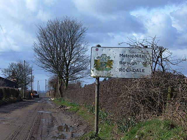 Thornham Old Road, Rochdale