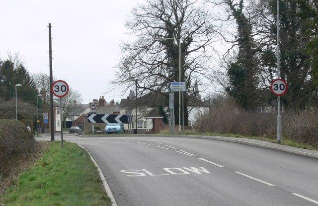 Broughton Lane, Dunton Bassett