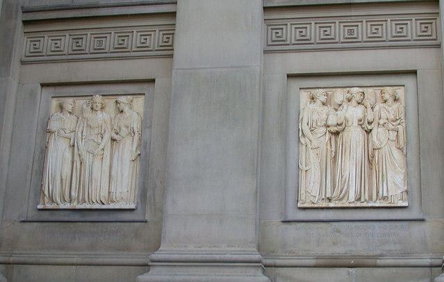 St George's Hall - detail
