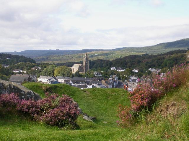 Tarbert from near the Castle