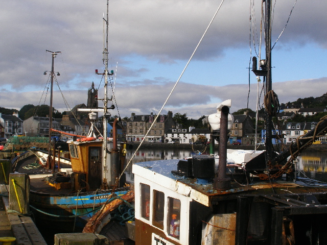 Tarbert from the Quay