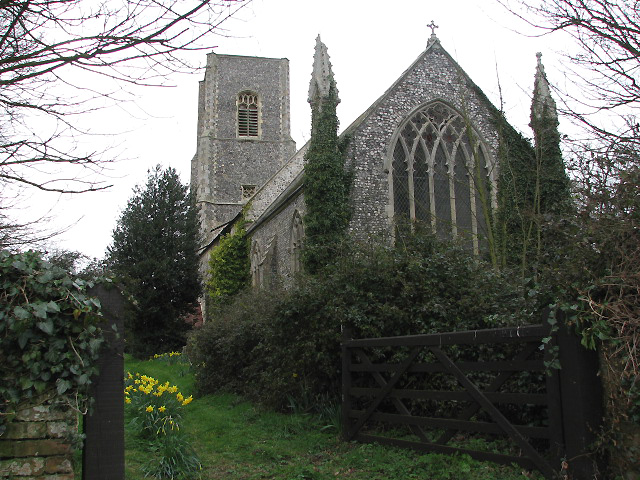 The church of St Giles