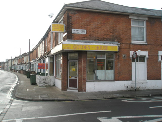 The Golden House in Talbot Road