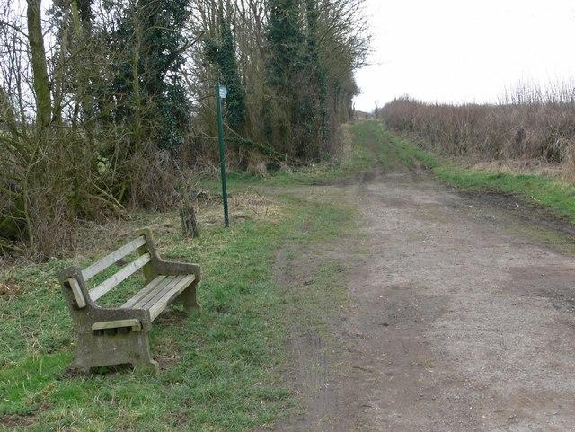 Public Bridleway off Dunton Lane