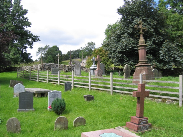 Graveyard and 'Watery Grave ' at St Michael's
