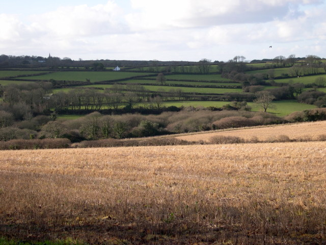 River Hayle Valley north of Relubbus