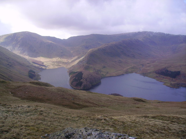 From Brownhowe Crag