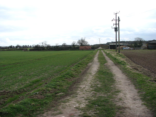 A section of the Paston Way